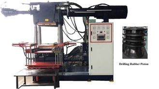 500 Ton Anti - Vibration Rubber Pad Injection Machine Hydraulic With Siemens Program