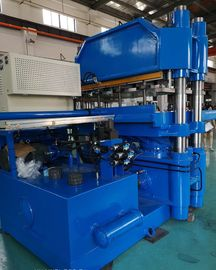 مناطق کنترل دمای دوگانه Plate Vulcanizing Machine Vulcanizer Industrial 500 Ton Clamp Force